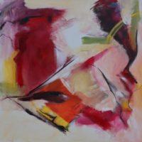 Abstract / 2018 / acryl / 100 x 100