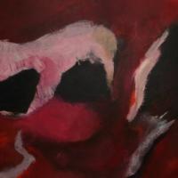 Stroming 3 / 2014 / acryl / 60 x 180