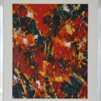 Zomerhitte / 2016 / acryl op papier / 69 x 49